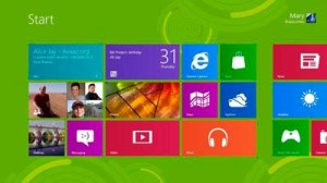 Aspecto del nuevo Windows 8