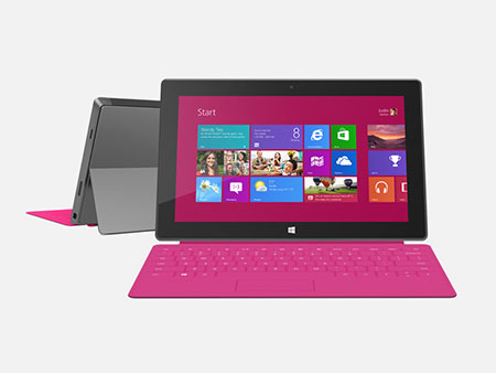 Tablet Microsoft Surface con Windows 8 RT