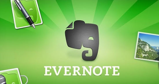 Evernote para iPhone 5S y 5C