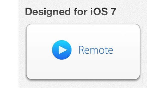 Remote para iPhone 5S y 5C