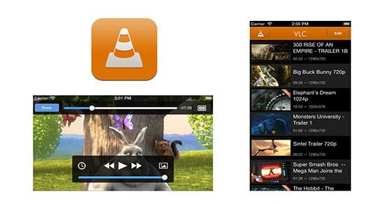 VLC para iPhone 5S y 5C