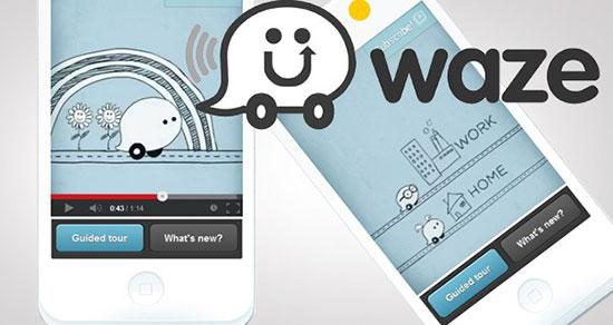 Waze para iPhone 5S y 5C