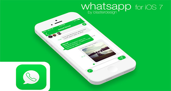 WhatsApp para iPhone 5S y 5C