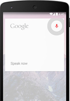 Android 4.4 mejora Google Now