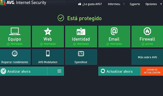 AVG - Mejor Antivirus Gratuito 2014