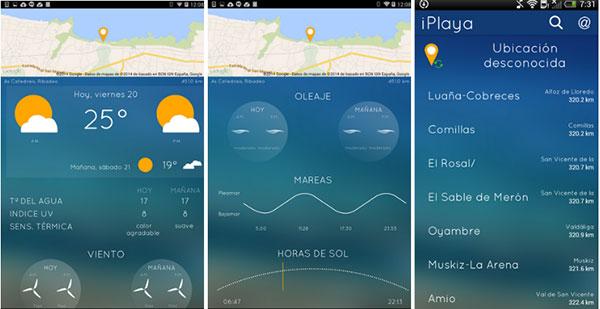 Las mejores aplicaciones para disfrutar de la playa este verano